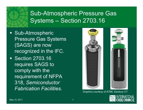 Nfpa 318 Type 1 Sags