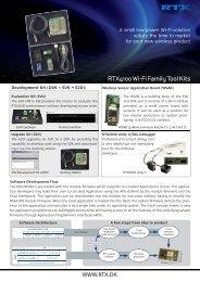 RTX4100 Tool Kits v1.indd - SemiconductorStore.com