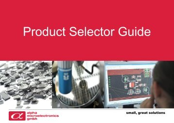 Product Selector Guide - SemiconductorStore.com