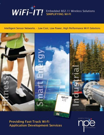 WiFi-IT! Product Brochure (pdf - 2.2 Mb) - North Pole Engineering