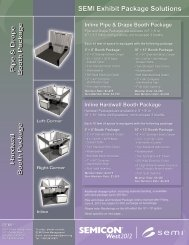 SEMI Exhibit Package Solutions - SEMICON West