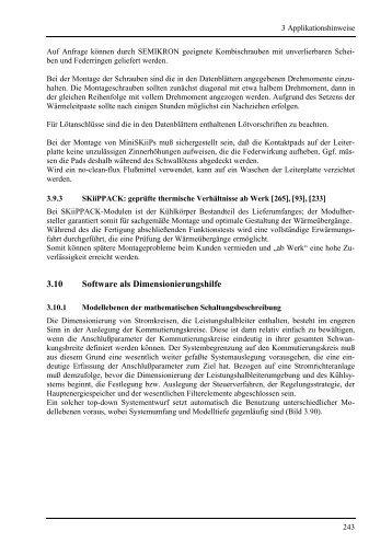 3.10 Software als Dimensionierungshilfe - Semikron
