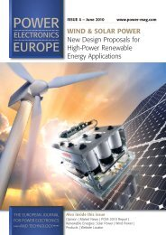 New Design Proposals for High Power Renewable Energy - Semikron