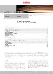 Application Note - Semikron