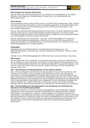 ASP Lösungen der Seminar-Shop GmbH Seminar-Shop bietet ASP ...