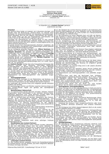 System Partner Vertrag Seite 1 Von 4 Abgeschlossen