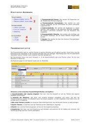 BESCHREIBUNG STATISTIK - Seminar-Shop GmbH