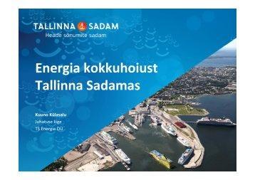 (Microsoft PowerPoint - Energia kokkuhoiust Tallinna Sadamas ...