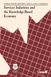Services Industries and the the Knowledge-Based Economy