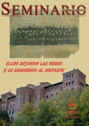 Revista 40_Maquetación 1.qxd - Seminario Conciliar de Madrid