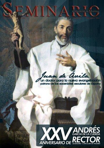 revista - Seminario Conciliar de Madrid