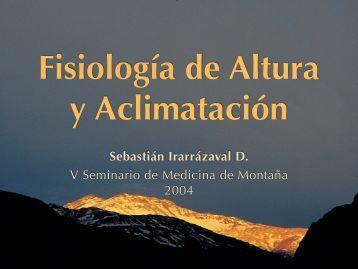 Fisiología y Aclimatación - Seminario de Medicina de Montaña