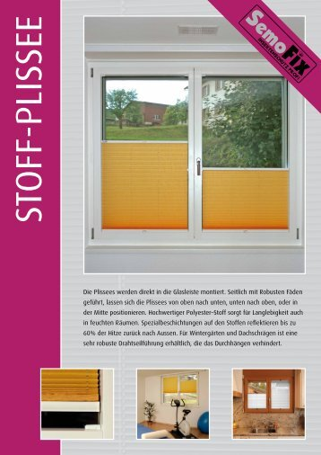 PDF Download Plissee - Semofix Insektenschutz