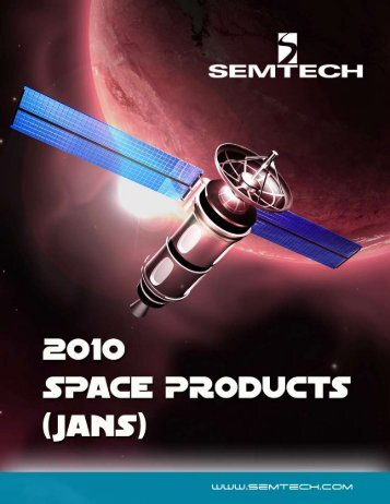 2010 Space Products (JANS) Catalog - Semtech