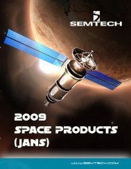 Semtech Space Level Flow HR500S Axial and Surface Mount ...