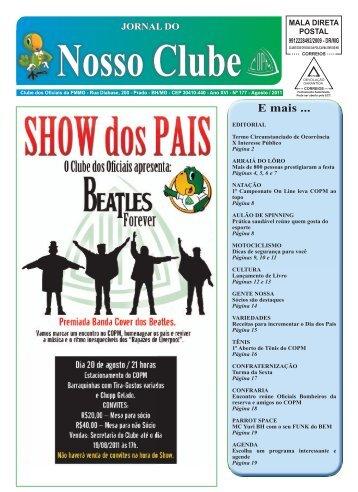 Jornal COPM - Ano XVl - Nº 177 - Agosto / 2011 - By ConsulteWeb!