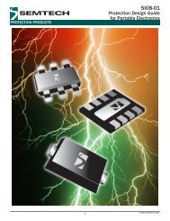 Protection Design Guide for Portable Electronics - Semtech