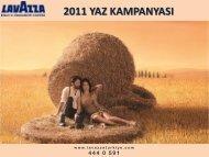 Lavazza 2011 Yaz Kampanyası