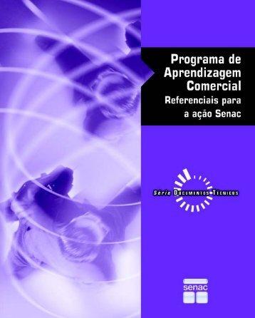 Programa de aprendizagem comercial : referenciais para a ... - Senac
