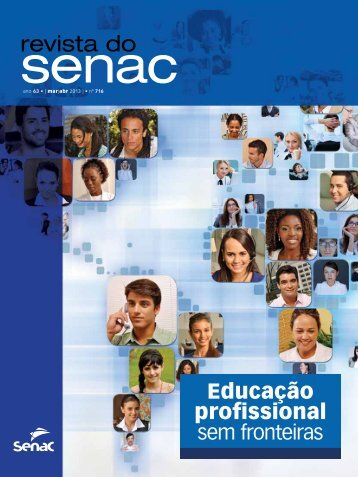 Educação profissional sem fronteiras - Senac