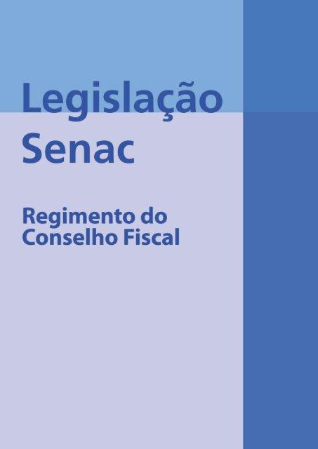 Regimento do Conselho FisCal - Senac