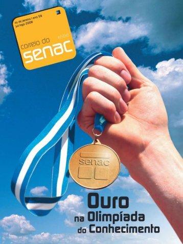 Ouro na olimpíada do conhecimento - Senac