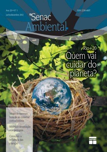 Quem vai cuidar do planeta? - Senac