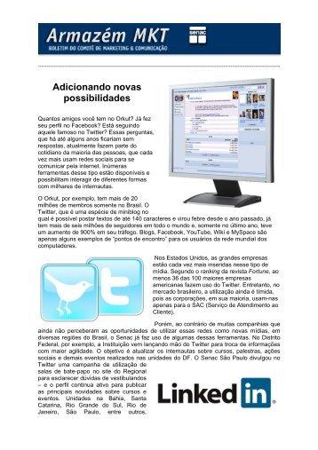 Senac So Paulo promove Evento Internacional de Marketing no ...