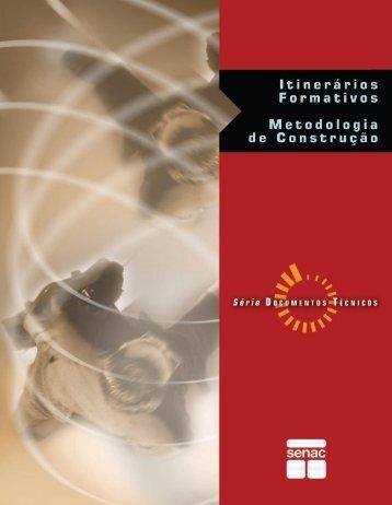 itinerários formativos metodologia de construção - Senac