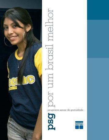 Programa Senac de Gratuidade: Por um Brasil melhor