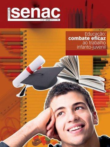 Educação: combate eficaz ao trabalho infanto-juvenil - Senac