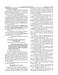 """– Coordenadas Geográficas 17º 33' 25"""" de ... - Senado Federal"""