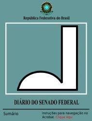 DIÁRIO DO SENADO FEDERAL