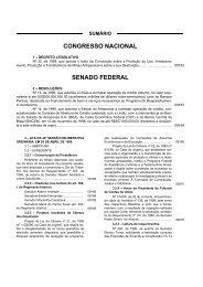 DIÁRIO DO CONGRESSO NACIONAL - Senado Federal