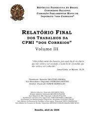 RELATÓRIO FINAL - Senado Federal