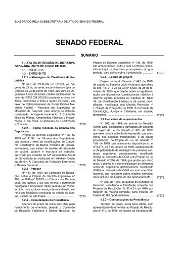 28 - Senado Federal