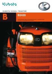 Kubota B20-Serie / B2420