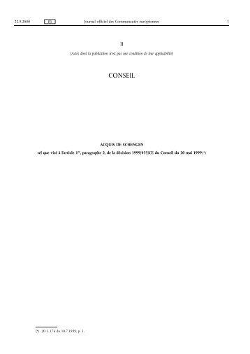 CONSEIL - EUR-Lex