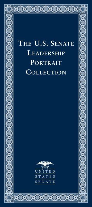 The U.S. Senate Leadership Portrait Collection