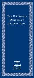 The U.S. Senate Democratic Leader's Suite