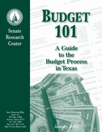 Budget 101 - Senate