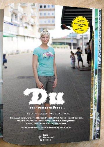 Plakatmotive der Kampagne - Senatspressestelle - Bremen