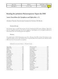 Katalog der primären Hymenopteren-Typen des DEI - Senckenberg