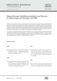 Abgeschlossene Qualifikationsarbeiten am Museum für Mineralogie ...
