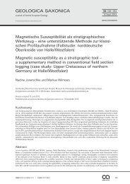 Magnetische Suszeptibilität als stratigraphisches Werkzeug – eine ...