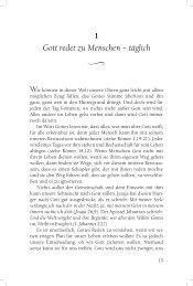 Wie man Gottes Reden hört - Sendbuch.de