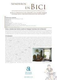 Descargar en formato PDF - Senderos de Alicante