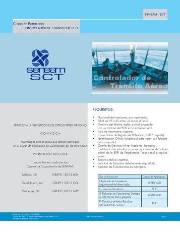 Convocatoria 2012 - Seneam