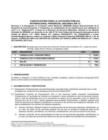 BASES LICITACION SGRM-03/97 INT. - Seneam