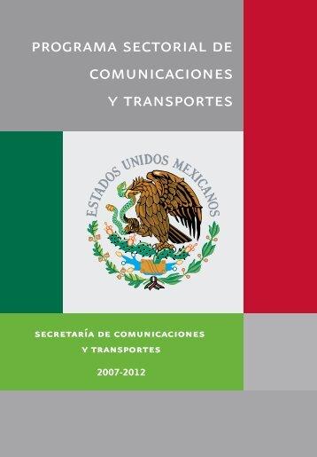 Programa Sectorial de Comunicaciones y Transportes 2007 - Seneam